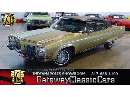 1972 Oldsmobile 98 for sale in Indianapolis, Indiana 46268
