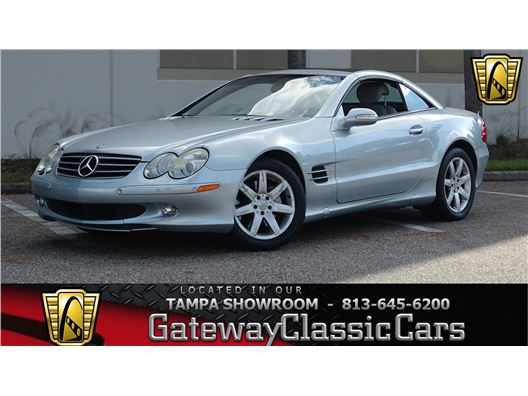 2003 Mercedes-Benz SL500 for sale in Ruskin, Florida 33570