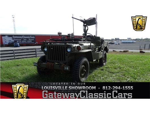 1947 Willys Jeep for sale in Memphis, Indiana 47143