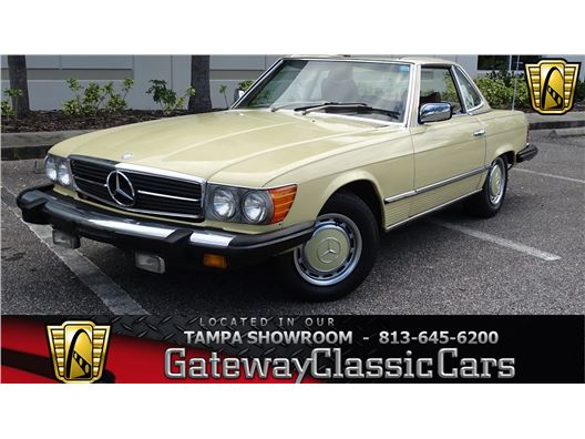 1976 Mercedes-Benz 450SL for sale in Ruskin, Florida 33570