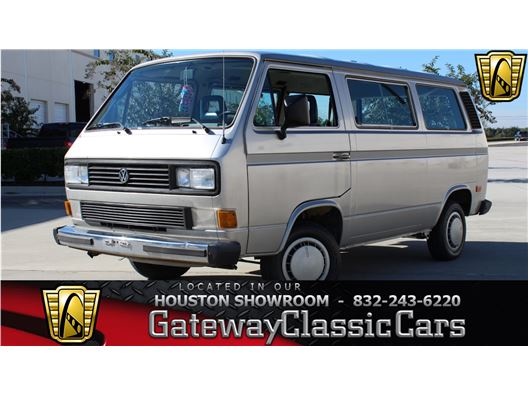 1986 Volkswagen Vanagon Bus for sale in Houston, Texas 77090