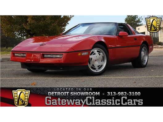1989 Chevrolet Corvette for sale in Dearborn, Michigan 48120