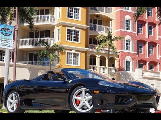 2003 Ferrari 360 Spider for sale in Naples, Florida 34104