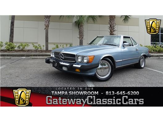 1987 Mercedes-Benz 560SL for sale in Ruskin, Florida 33570