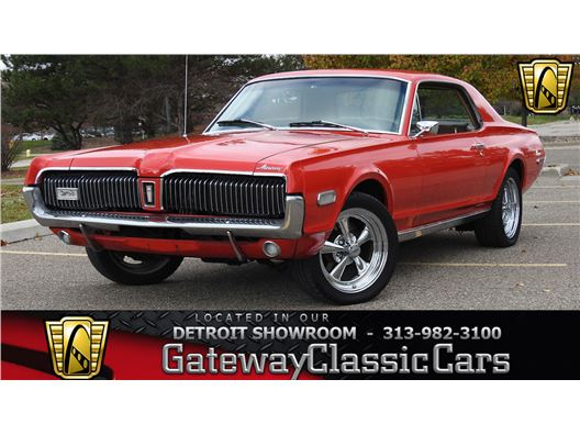 1968 Mercury Cougar for sale in Dearborn, Michigan 48120
