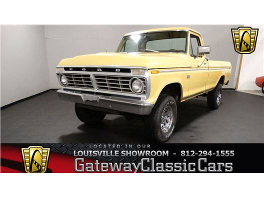 1975 Ford F250 for sale in Memphis, Indiana 47143
