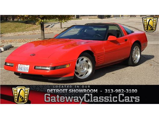 1993 Chevrolet Corvette for sale in Dearborn, Michigan 48120