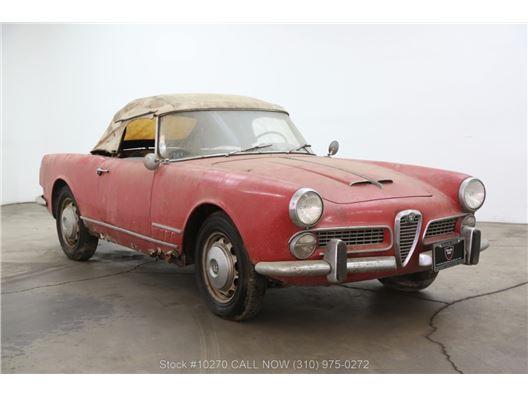 1959 Alfa Romeo 2000 Spider for sale in Los Angeles, California 90063