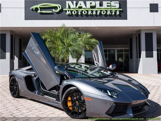 2015 Lamborghini Aventador LP 700-4 for sale in Naples, Florida 34104