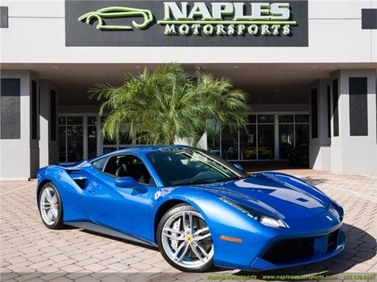 2018 Ferrari 488 GTB for sale in Naples, Florida 34104