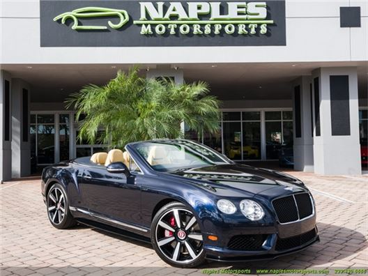 2015 Bentley Continental GT GTC V8 S Convertible for sale in Naples, Florida 34104