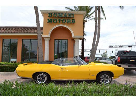 1968 Pontiac GTO Convertible for sale in Deerfield Beach, Florida 33441