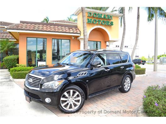 2014 Infiniti Qx80 for sale in Deerfield Beach, Florida 33441