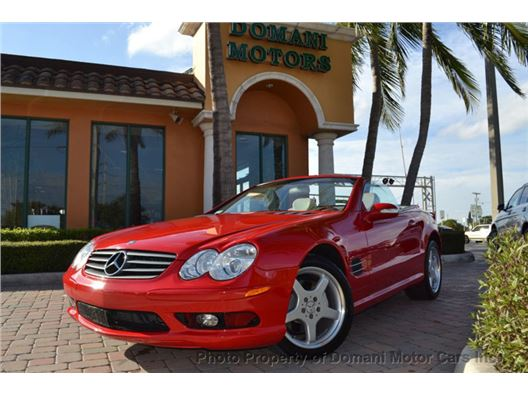 2003 Mercedes-Benz SL-Class for sale in Deerfield Beach, Florida 33441