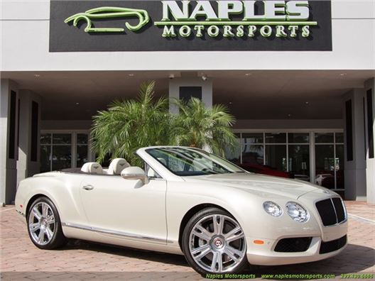 2013 Bentley Continental GT GTC for sale in Naples, Florida 34104