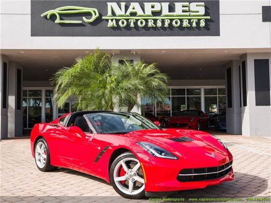 2015 Chevrolet Corvette Stingray for sale in Naples, Florida 34104
