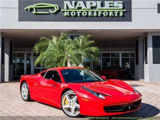 2010 Ferrari 458 Italia for sale in Naples, Florida 34104