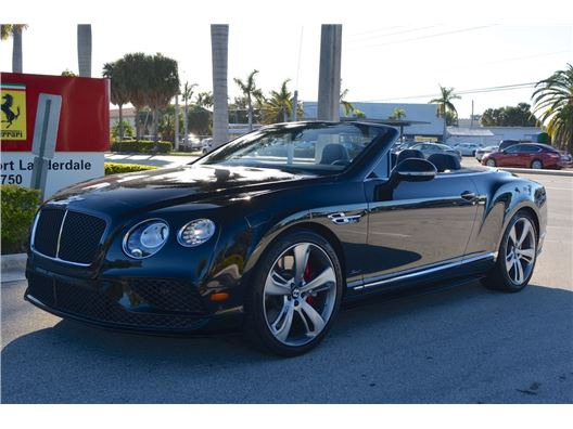 2016 Bentley Continental GTC Speed for sale in Fort Lauderdale, Florida 33308