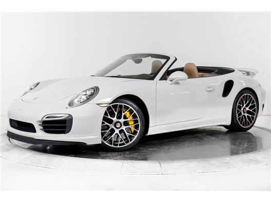 2015 Porsche 911 TURBO S CABRIOLET for sale in Fort Lauderdale, Florida 33308
