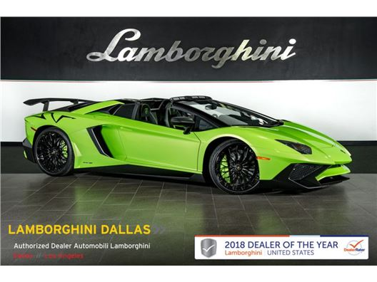 2017 Lamborghini Aventador SV for sale in Richardson, Texas 75080