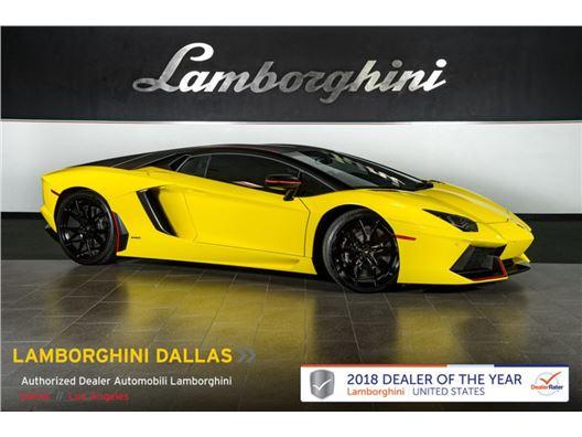2016 Lamborghini Aventador for sale in Richardson, Texas 75080