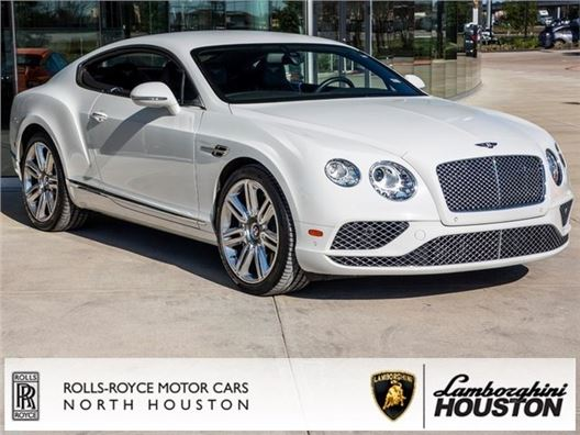 2016 Bentley Continental GT for sale in Houston, Texas 77090