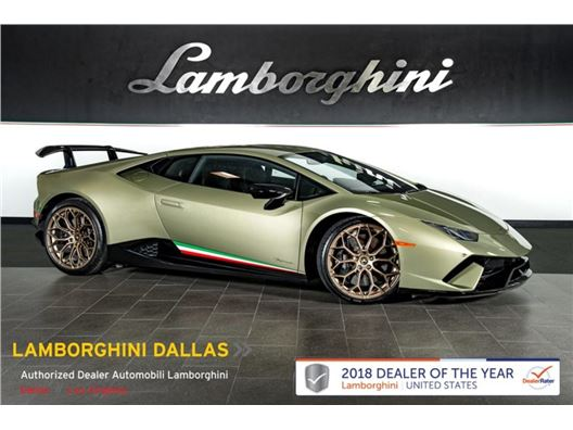 2018 Lamborghini Huracan Performante for sale in Richardson, Texas 75080
