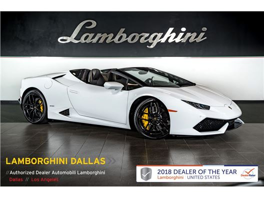 2017 Lamborghini Huracan LP610-4 for sale in Richardson, Texas 75080