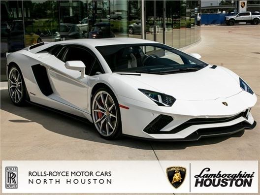 2018 Lamborghini Aventador S for sale in Houston, Texas 77090