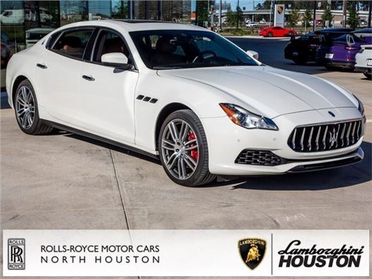 2017 Maserati Quattroporte for sale in Houston, Texas 77090