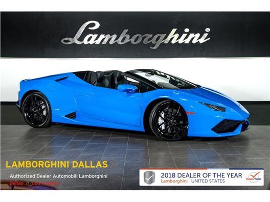 2016 Lamborghini Huracan LP610-4 for sale in Richardson, Texas 75080