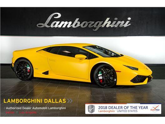 2015 Lamborghini Huracan LP610-4 for sale in Richardson, Texas 75080