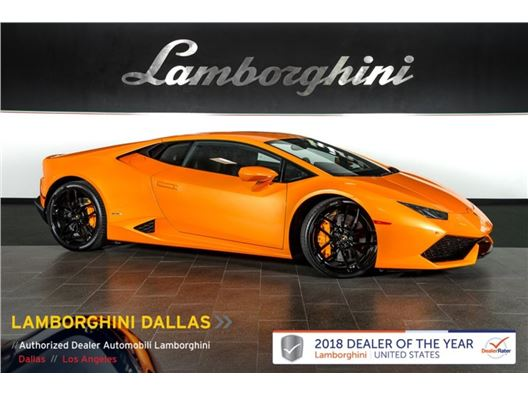 2015 Lamborghini Huracan LP610-4 for sale in Richardson, Texas 75080