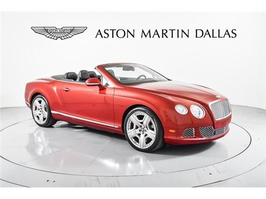 2012 Bentley Continental GTC for sale in Dallas, Texas 75209