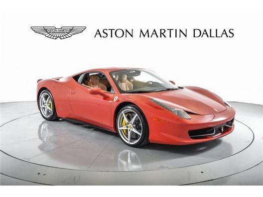 2015 Ferrari 458 Italia for sale in Dallas, Texas 75209