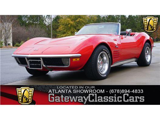 1971 Chevrolet Corvette for sale in Alpharetta, Georgia 30005