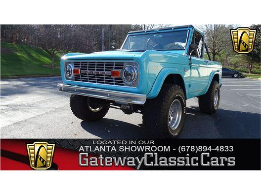 1970 Ford Bronco for sale in Alpharetta, Georgia 30005