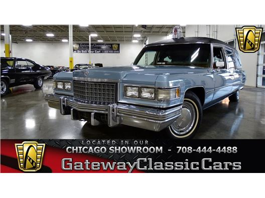 1976 Cadillac Fleetwood for sale in Crete, Illinois 60417