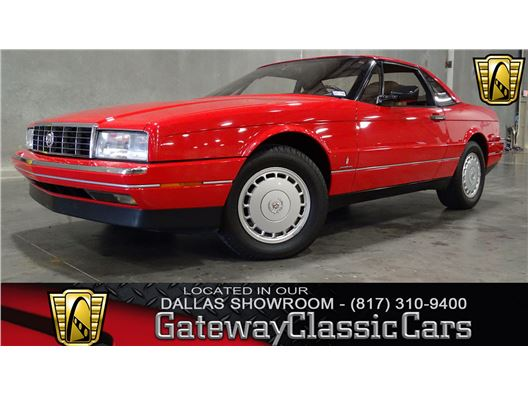 1988 Cadillac Allante for sale in DFW Airport, Texas 76051