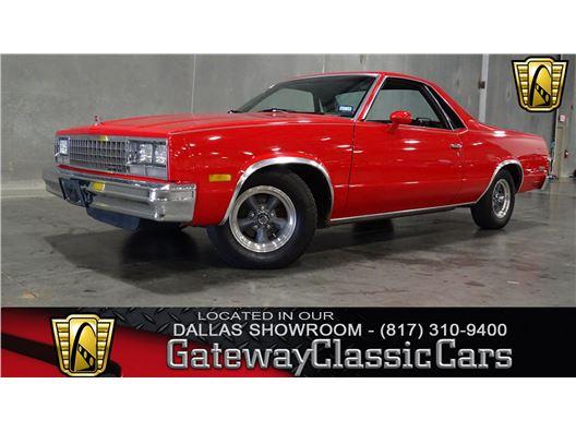 1984 Chevrolet El Camino for sale in DFW Airport, Texas 76051