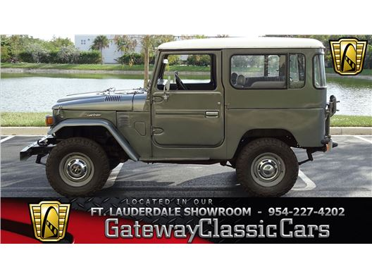 1980 Toyota FJ40 for sale in Coral Springs, Florida 33065
