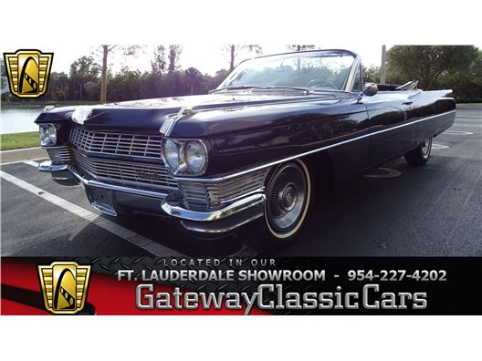 1964 Cadillac Series 62 for sale in Coral Springs, Florida 33065
