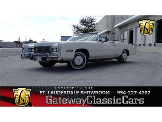 1976 Cadillac Eldorado for sale in Coral Springs, Florida 33065