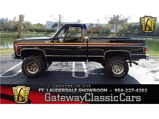 1978 Chevrolet K10 for sale in Coral Springs, Florida 33065
