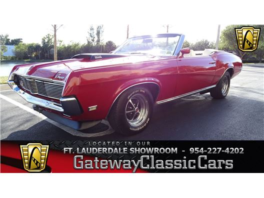 1969 Mercury Cougar for sale in Coral Springs, Florida 33065