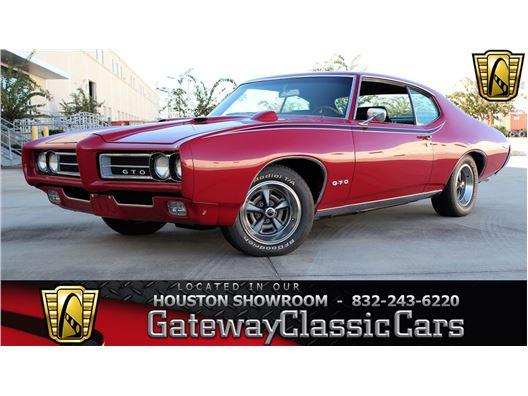 1969 Pontiac GTO for sale in Houston, Texas 77090
