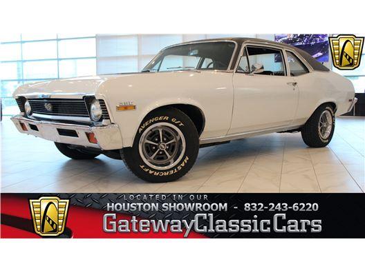 1970 Chevrolet Nova for sale in Houston, Texas 77090