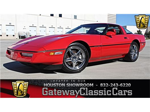 1990 Chevrolet Corvette for sale in Houston, Texas 77090
