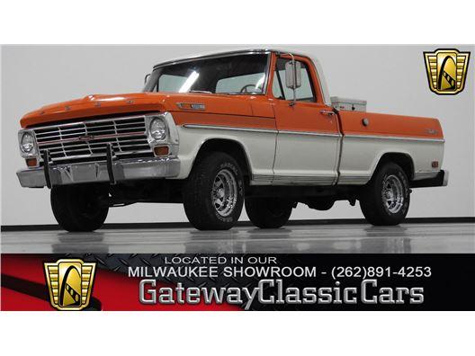 1968 Ford F100 for sale in Kenosha, Wisconsin 53144