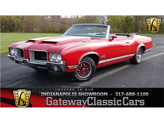 1971 Oldsmobile Cutlass for sale in Indianapolis, Indiana 46268